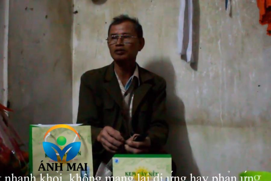Cảm nhận của bác Tùng Lâm, Bắc Giang về Kem hoàn da Ami