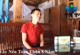Cảm nhận của anh Dẫn, BN vẩy nến Sơn La sau khi sử dụng Kem hoàn da Ami