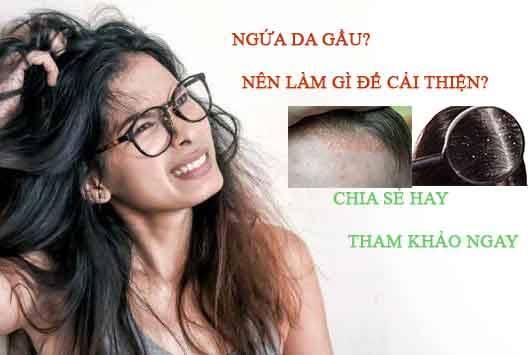 Chia sẻ mội số cách trị ngứa da đầu