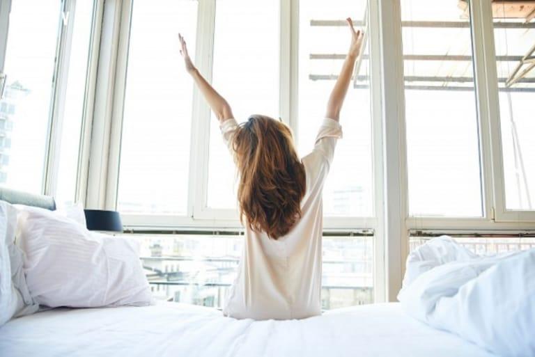 Tập có thói quen dậy sớm