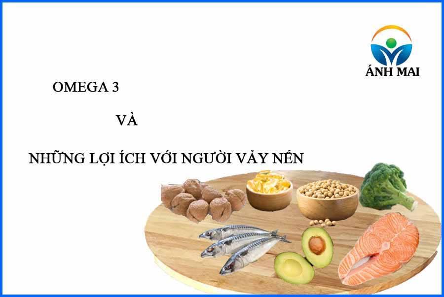omega3 và những lợi ích đối với người vảy nến