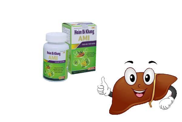 Hoàn Bì Khang giúp cải thiện chức năng gan ở người vảy nến