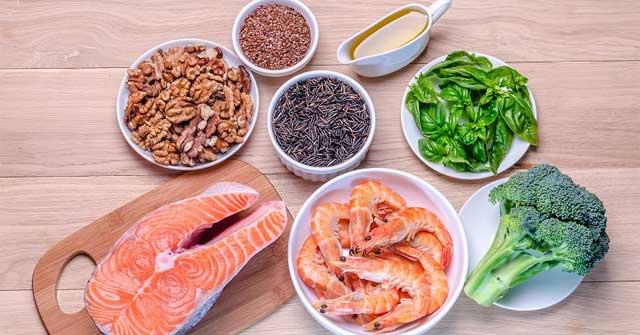 Những thực phẩm giàu omeg 3 tốt cho người vảy phấn hồng